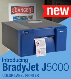 Brady J5000 Printer Supplies